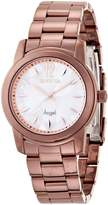 Invicta Women's Angel MOP Dial Brown IP Stainless Steel