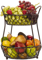 Mikasa Gourmet Basics Lattice 2 Tier Countertop Basket