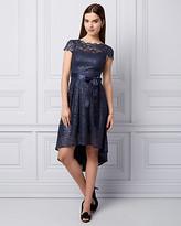 Le Château Lace High-Low Cocktail Dress