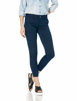 Cover Girl Women's Size Skinny Jeans Trouser Pant Style Side Slant Pockets