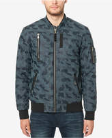 Buffalo David Bitton Men's Camo Zip-Front Bomber Jacket