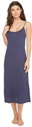 Natori Shangri-La Gown (Heather Night Blue) Women's Pajama