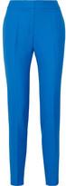 Pallas Adonis Grain De Poudre Wool Skinny Pants - Azure