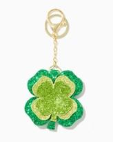 Charming charlie Four Leaf Clover Keychain