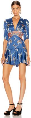 Alexis Nari Dress in Royal Blue Orchid   FWRD