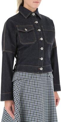 Lanvin Stitch Detail Denim Jacket
