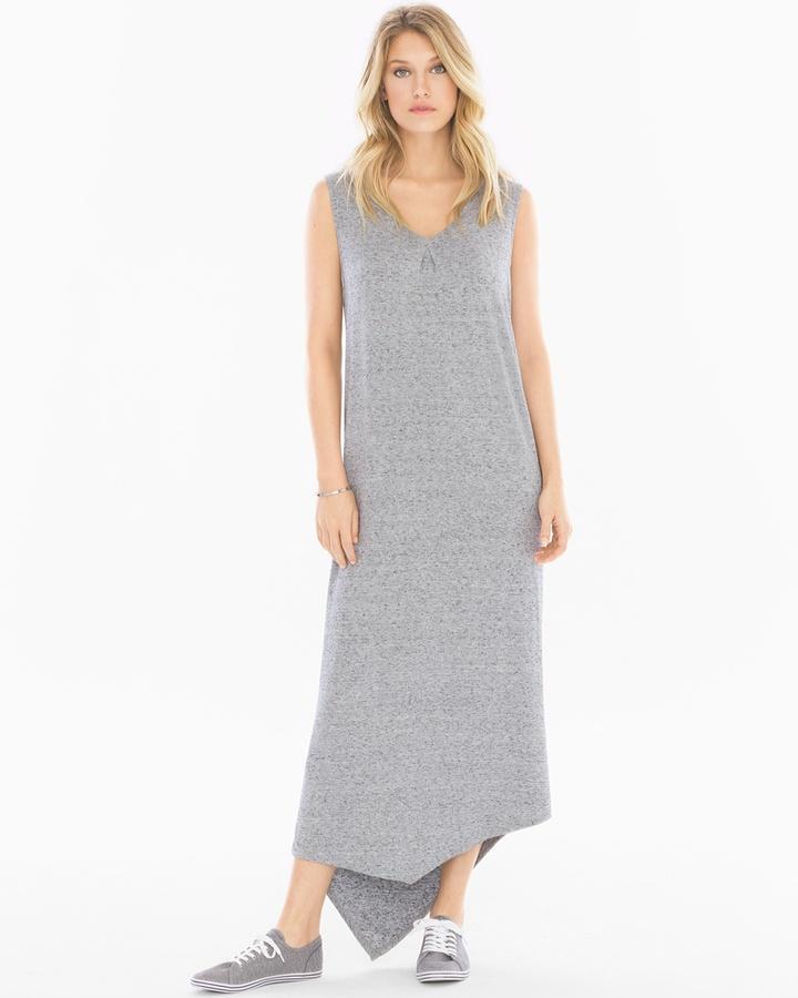 Soma Intimates Shoulder Wrap Angled Hem Dress