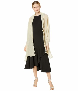 Collection Xiix Ltd. Collection XIIX Women's Light Weight Knit Shine Wrap
