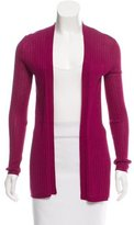 M Missoni Open Front Knit Cardigan