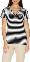 Nautica S/S T-Shirt W/Contrast J-Class-Stripe