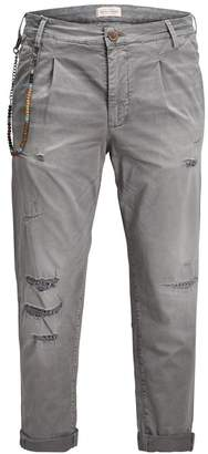 Jack and Jones Constructed Tapered Fit Cotton Pants