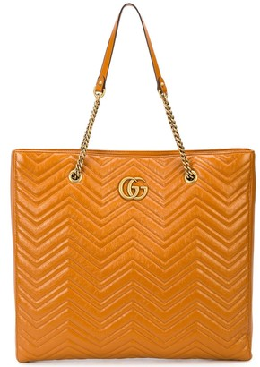 Gucci GG Marmont matelasse large tote