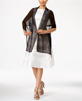 INC International Concepts Beaded Border Evening Wrap, Created for Macy's