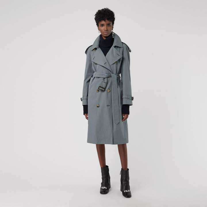Burberry Wool-lined Tropical Gabardine Trench Coat
