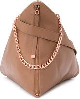 Ginger & Smart Rhapsody pyramid shoulder bag