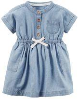Carter's Baby Girl Chambray Dress