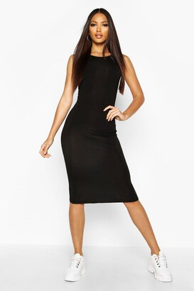 boohoo Sleeveless Midi Dress