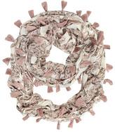 Dorothy Perkins Pink floral tassel snood