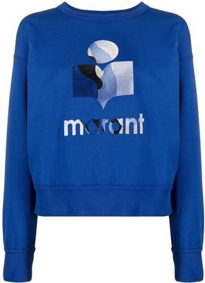 Etoile Isabel Marant Logo Printed Sweatshirt