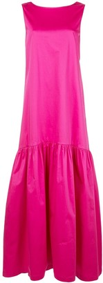 Co Flared Skirt Maxi Dress