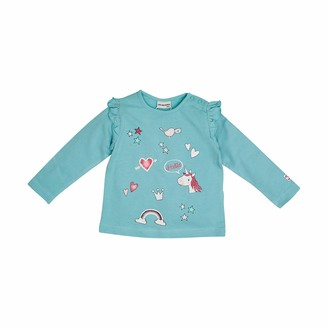 Salt&Pepper Salt and Pepper Baby_Girl's Longsleeve Dream Print Glitter Shirt