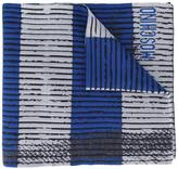 Moschino trompe-l'oeil scarf