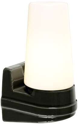 Old School Electric - Bernadotte Single Wall Light - Black