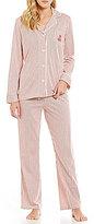 Lauren Ralph Lauren Striped Jersey Pajamas