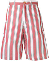 Stella McCartney Pajama striped shorts