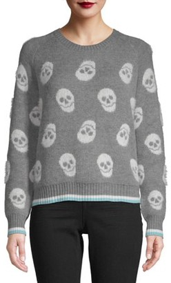 No Boundaries Juniors' Printed Jacquard Sweater