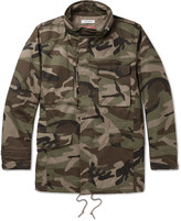 Nonnative Tropper Camouflage-Print GORE Windstopper® Cotton-Canvas Jacket