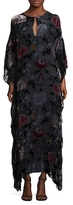 ADAM by Adam Lippes Floral Caftan Gown
