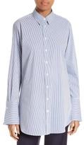 Joseph Women's Emile Pinstripe Shirt