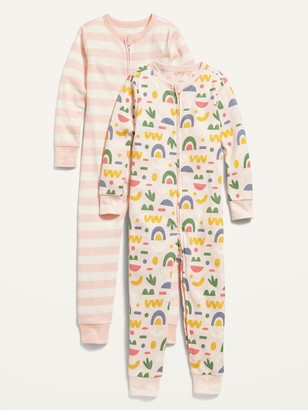 Old Navy Unisex 2-Pack Printed Pajama One-Piece for Baby