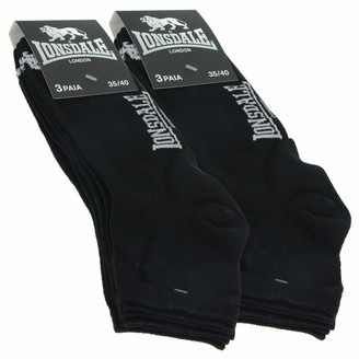Lonsdale London Quarter 6 Pairs of women's socks above the ankle