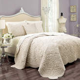 Vue Vue??? Charlotte Faux-Fur 3-pc. Coverlet Set