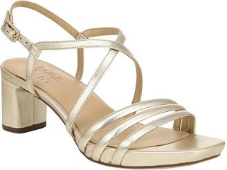 Naturalizer Heeled Leather Sandals - Iris