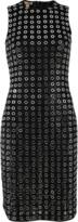 Michael Kors Grommet Embroidered Dress