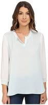 Calvin Klein Jeans Mixed Media Long Sleeve Sport Tee