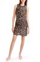 J.Crew Women's Leopard Print Shift Dress