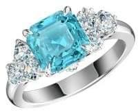 Swarovski Rhodium-plated and Crystal Sparkling Ring