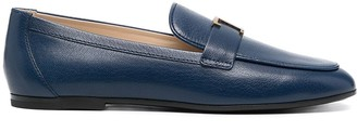 Tod's T-logo plaque loafers