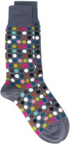 Paul Smith dot pattern socks
