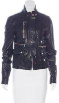 Dolce & Gabbana Leather Moto Jacket