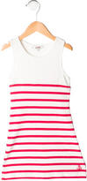 Junior Gaultier Girls' Striped Sleeveless Dress
