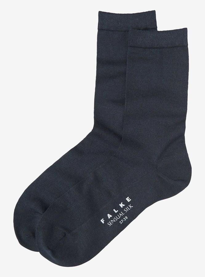 Toast Silk Falke Socks