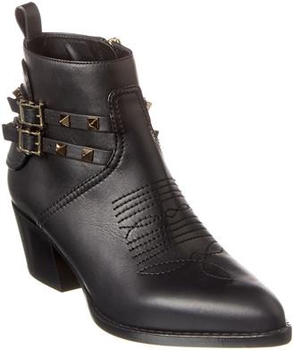 Valentino Rockstud Leather Boot