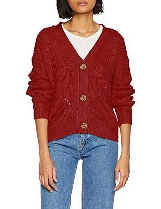 New Look Women's Chunky Button 58753 Cardigan,(Size:52)
