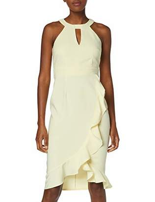 Dorothy Perkins Women's Romy Ruffle Dress Party,(Size:)
