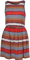 Multi Cruise Stripe Sleeveless Jersey Dress